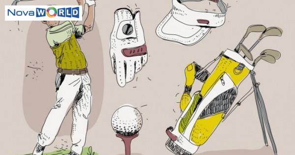 vintage golf player essensials hand drawn vector illustration e1559986134704 cr